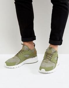 Зеленые кроссовки для тенниса Nike Huarache Run Ultra 833147-201 - Зеленый