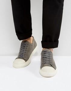 Серые замшевые кроссовки KG By Kurt Geiger - Серый