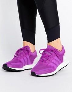 Кроссовки Adidas Los Angeles Performance - Фиолетовый