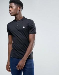 Узкая футболка-поло Le Breve - Черный