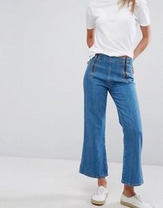 Джинсовые кюлоты MiH Jeans - Синий