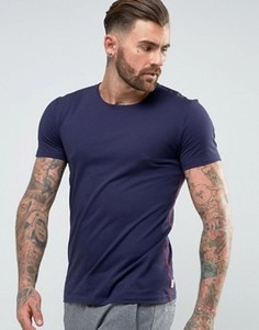 Свободная темно-синяя футболка Paul Smith - Темно-синий