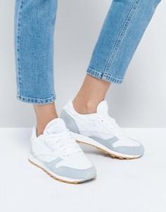 Классические кожаные кроссовки Reebok - Белый