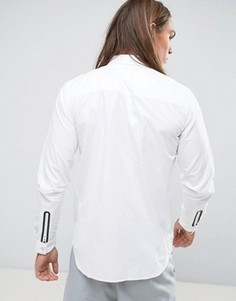 Рубашка классического кроя Dr Denim Ossian - Белый