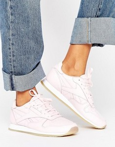 Классические кожаные кроссовки Reebok - Розовый