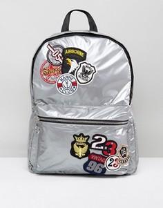 Рюкзак с нашивками New Look - Серебряный