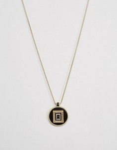 Ожерелье с подвеской House Of Harlow - Золотой