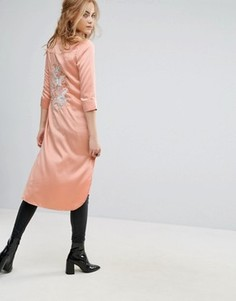 Длинная рубашка Glamorous - Розовый