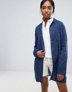 Легкое джинсовое пальто Bethnals Graham - Синий