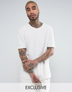 Oversize-футболка серого цвета из вафельной ткани Puma эксклюзивно для ASOS - Серый