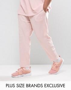 Розовые джоггеры из вафельного трикотажа Puma PLUS эксклюзивно для ASOS - Розовый