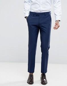 Однотонные брюки Harry Brown - Синий