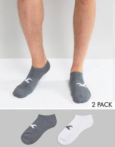2 пары носков (серые/белые) Hollister Coolmax - Мульти