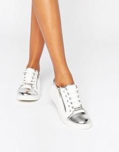 Кроссовки с отделкой на носке Lipsy - Белый