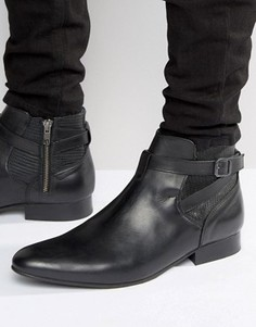 Кожаные ботинки House Of Hounds Albion Jodphur - Черный