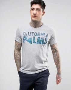 Футболка Wrangler California Palms - Серый