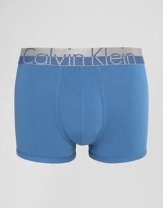 Хлопковые боксеры-брифы Calvin Klein Magnetic - Синий