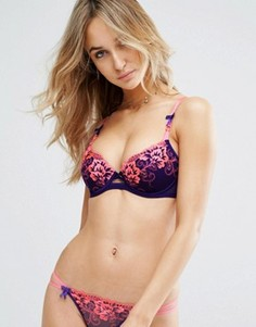 Бюстгальтер с глубоким вырезом Ann Summers Tropical - Фиолетовый