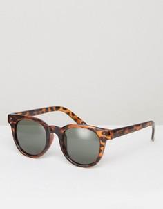 Солнцезащитные очки в черепаховой оправе Vans Welborn V005YOM5Z - Коричневый