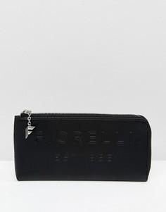 Дорожный бумажник с логотипом Fiorelli - Черный