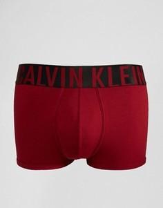 Боксеры-брифы из плотного хлопка Calvin Klein - Красный