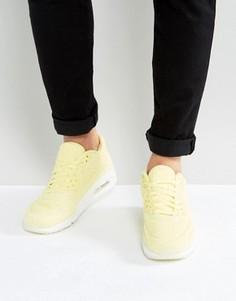 Желтые дышащие кроссовки Nike Air Max 90 898010-700 - Желтый