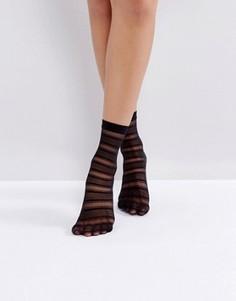 Черные носки Jonathan Aston Halo - Черный