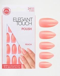 Накладные ногти Elegant Touch - Stiletto Peach - Розовый