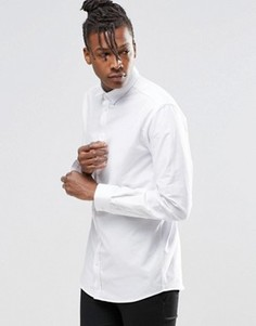Рубашка с длинными рукавами ADPT Beck - Белый