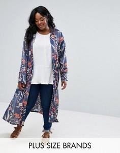 Легкое пальто с цветочным принтом Alice & You - Мульти