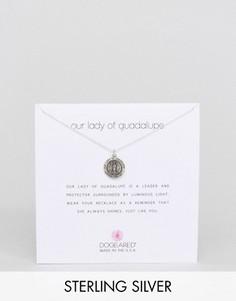 Серебряное ожерелье Dogeared Lady of Guadalupe - Серебряный