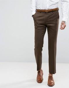 Шерстяные брюки Harry Brown - Коричневый
