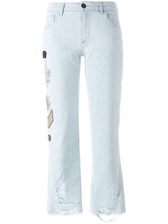 джинсы с нашивками Mr & Mrs Italy
