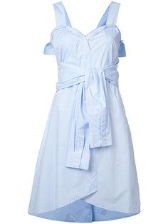 платье с завязками спереди Derek Lam 10 Crosby