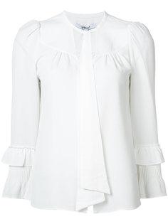 блузка с завязками на шее Derek Lam 10 Crosby