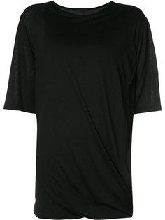 драпированная футболка Forme Dexpression