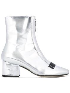Double Delta metallic boots Dorateymur