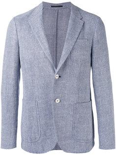 пиджак с заостренными лацканами Z Zegna