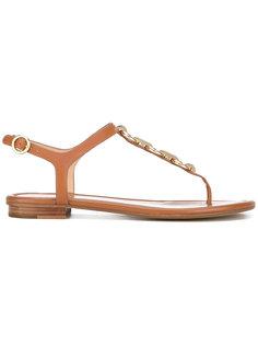 декорированные сандалии с металлическими деталями Michael Michael Kors