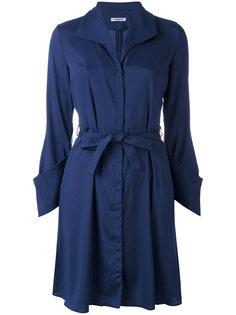 платье-рубашка с поясом Cacharel
