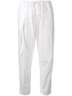 tech poplin trousers Andrea Yaaqov