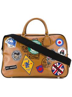 дорожная сумка с нашивками Dsquared2