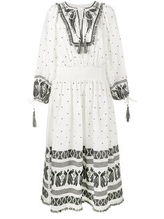 embroidered long sleeve dress Zimmermann