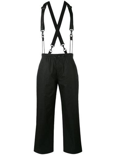 брюки с подтяжками Y-3
