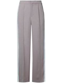 flared sports stripe trousers Guild Prime