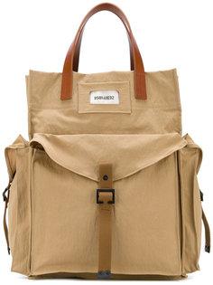 сумка в стиле милитари Dsquared2