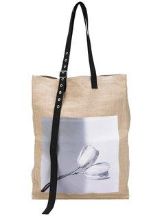 объемная сумка-тоут  Raf Simons
