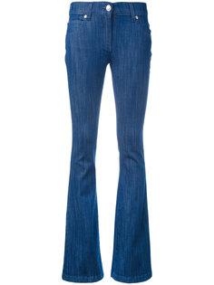 расклешенные джинсы с логотипом Pierre Balmain