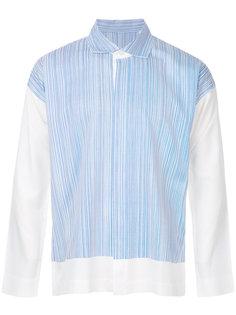 pinstripe shirt Homme Plissé Issey Miyake
