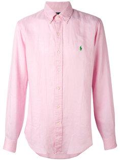 рубашка с длинными рукавами и логотипом Ralph Lauren